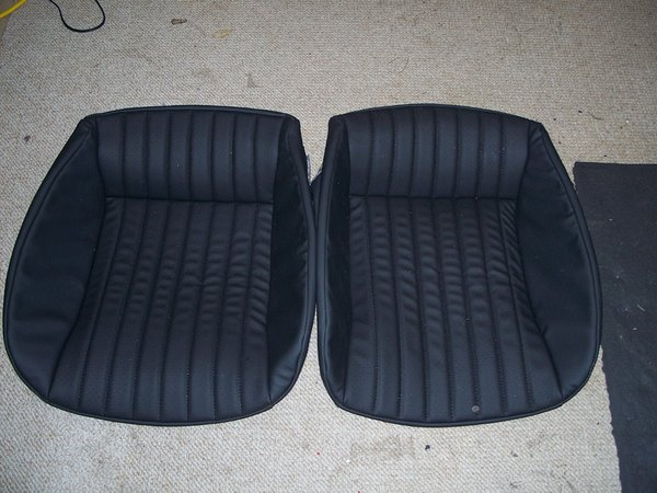 82 92 Pontiac T A Seat Covers Black Ultra Leather W