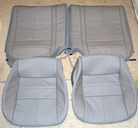 93 97 Camaro Seat Covers W Z28 Logo Black Carerra Ultra